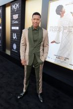Lodric D. Collins at the RESPECT World Premiere In Los Angeles