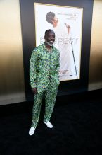 Michael K. Williams at the RESPECT World Premiere In Los Angeles