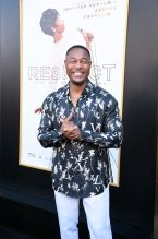Tank at the RESPECT World Premiere In Los Angeles