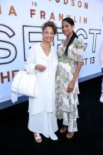 Debbie Allen and Vivian Nixon at the RESPECT World Premiere In Los Angeles