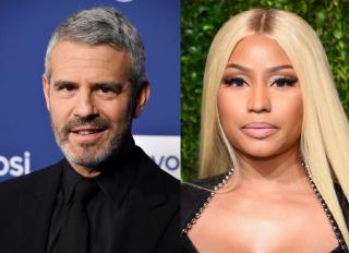 Andy Cohen x Nicki Minaj