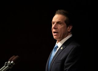NYS Gov. Andrew Cuomo during 2019 State of State address