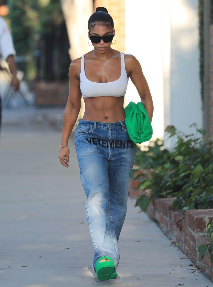Celebrity Sightings In Los Angeles - August 25, 2021