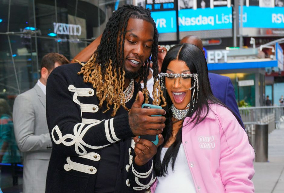 Cardi B Congratulates Her Other Half Offset After Ringing The NYSE Opening Bell: 'Sooo Proud Of You My Dear'