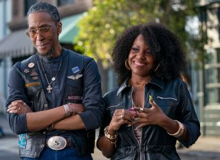 Truth Be Told episodic still featuring Ron Cephas Jones and Haneefah Wood