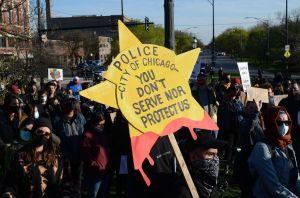 Adam Toledo protest in Chicago