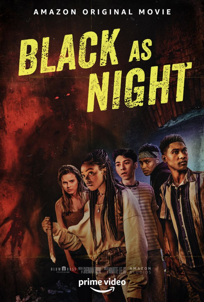 Black as Night poster and production still