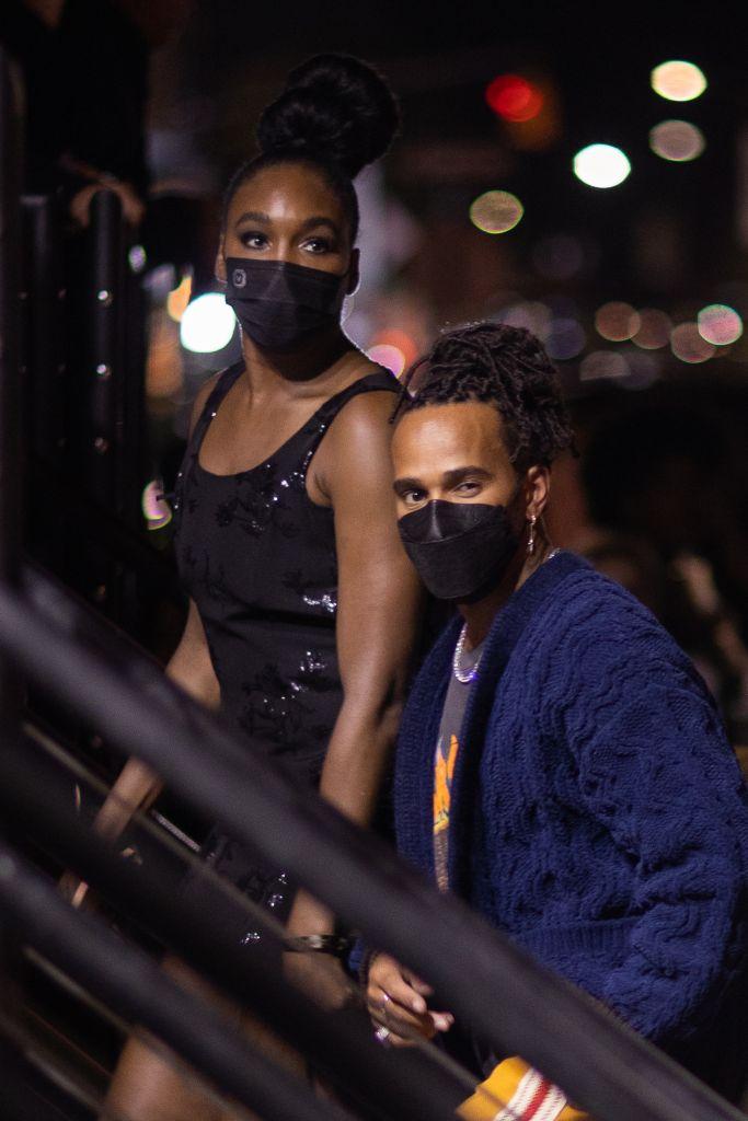 Venus Williams and Lewis Hamilton
