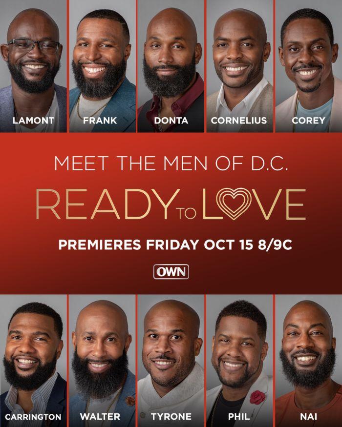 Ready To Love Key art and cast photos for DC season