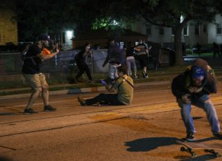 Protests in Wisconsin aftermath of Kenosha shooting