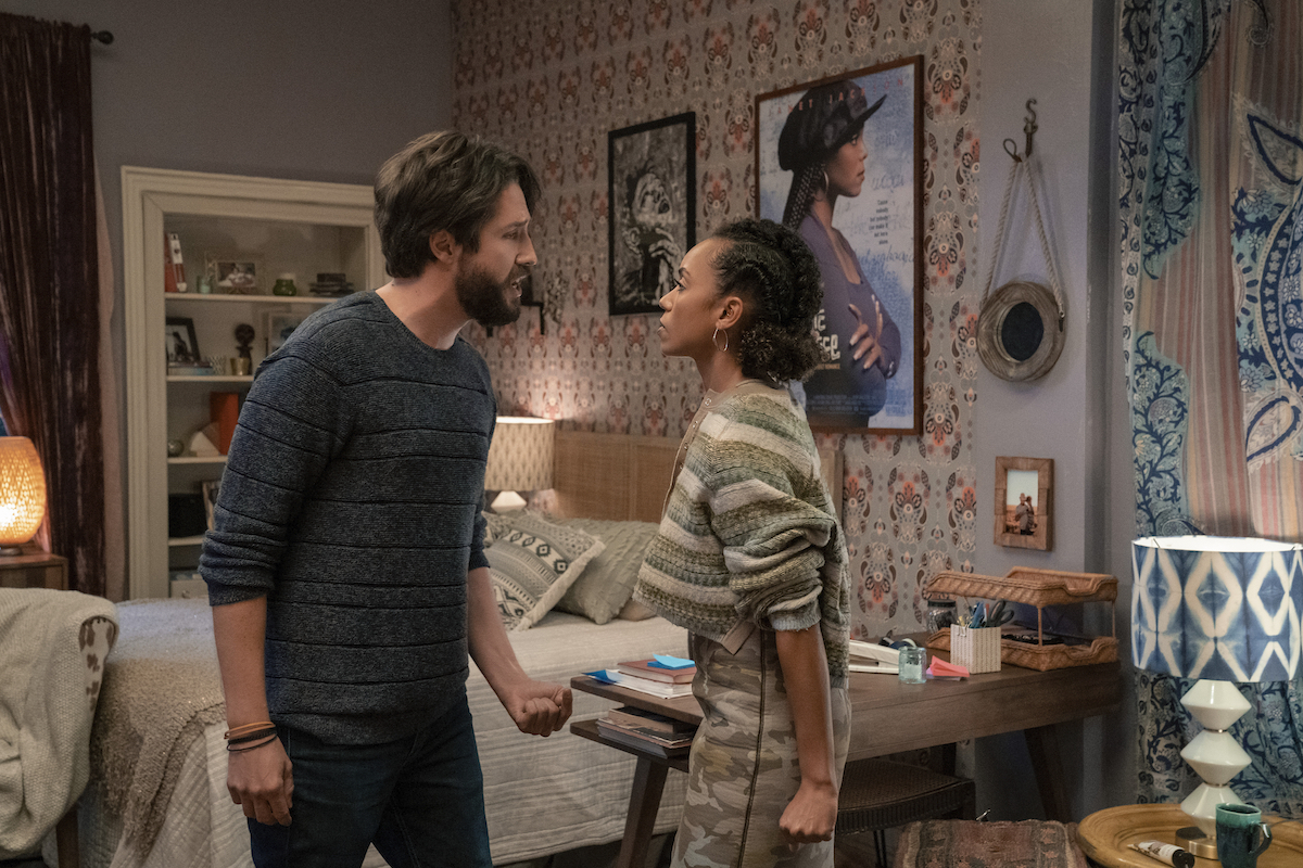 """""""Dear White People"""" Swirl Gone Sour?  Logan Browning And John Patrick Amedori Talk Flipping THIS N'Sync For Final Season [Exclusive]"""