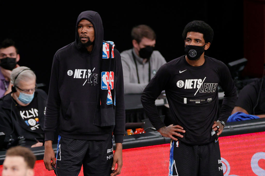 Kevin Durant Reportedly Stopped The Nets From Trading Kyrie Irving For Ben Simmons [Video]