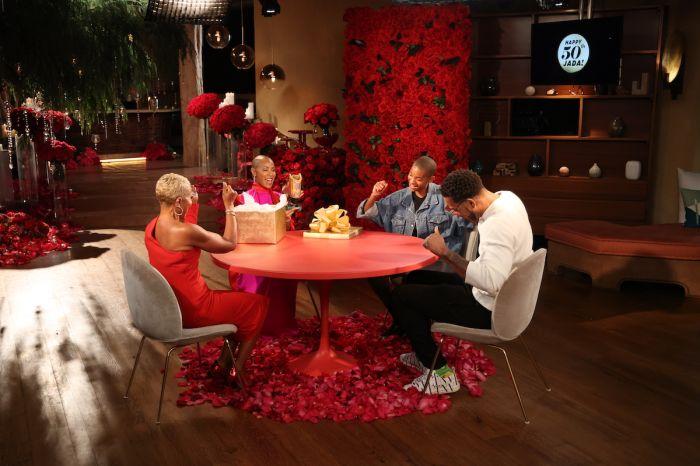 Method Man joins Jada Pinkett-Smith's 50th birthday celebration on Red Table Talk