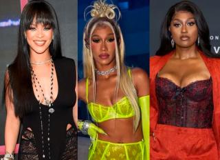 Rihanna, Bia and Jazmine Sullivan