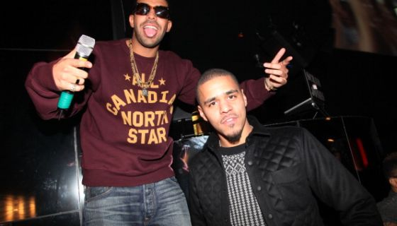 """Friends In The Industry? Drake Gives J. Cole His Flowers Following Bashful 'Bronze' Bar On """"Heaven's EP"""""""