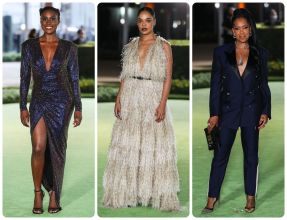 Issa Rae Tessa Thompson and Regina King The Academy Museum Of Motion Pictures Opening Gala