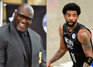 Kyrie Irving Shaquille O'Neal COVID-19 vaccine