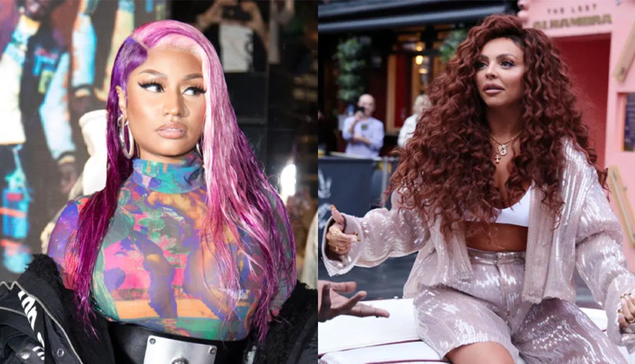 Nicki Minaj and Jesy Nelson
