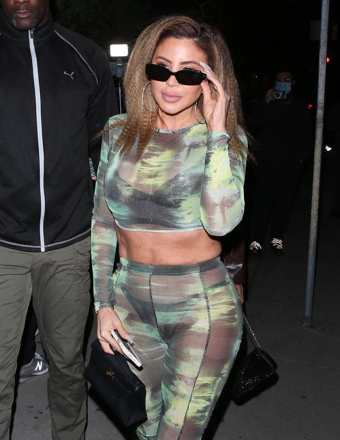 Celebrity Sightings In Los Angeles - October 12, 2021
