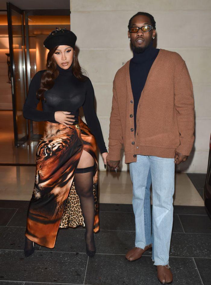 Celebrity Sightings In Paris - October 1, 2021