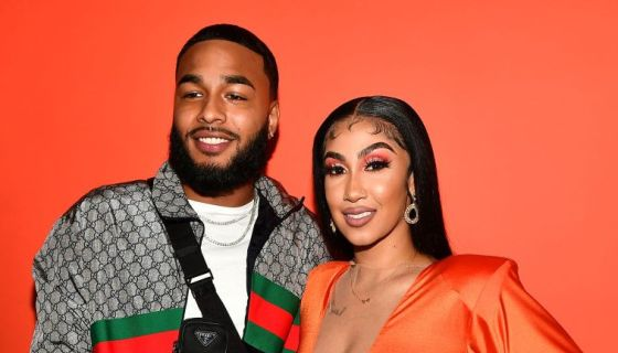 How Sweet: Clarence Surprised Queen Naija With 'DREAM' Jeep Filled With Birthday Gifts