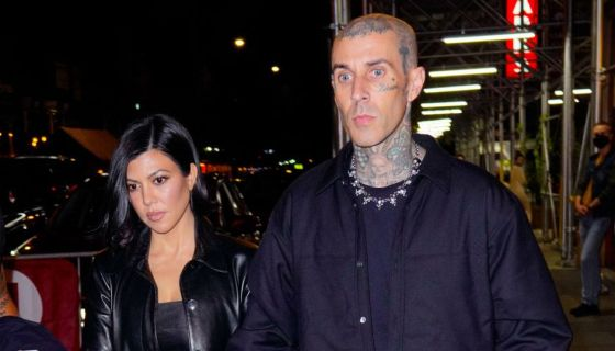 Kourtney Kardashian & Travis Barker Are Engaged! See The Massive Ring He Popped The Question Wit ...