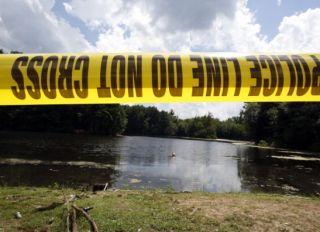 Police Search Pine Lake